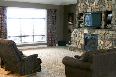 Living Room Fireplace 2